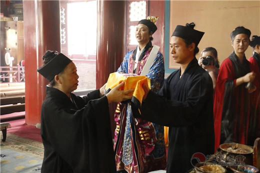 南岳衡山道院赴北京白云观迎请全真法统