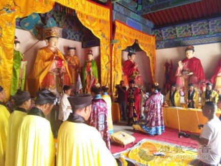 河北省易县南天观举办七七道德腊斋祭法会