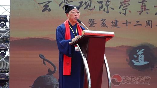 吉林市玄帝观举行陈崇真方丈升座暨复建十二周年庆典活动