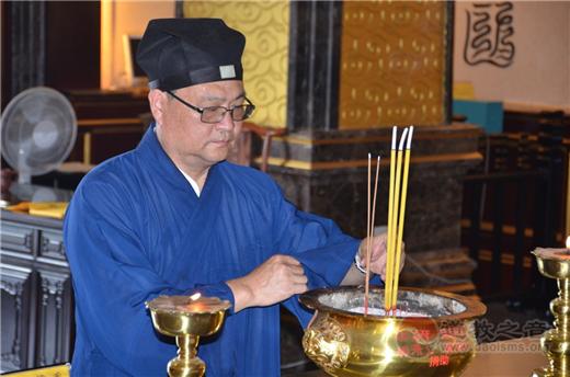 茅山道院举行纪念中国人民抗日战争胜利73周年和平祈祷法会