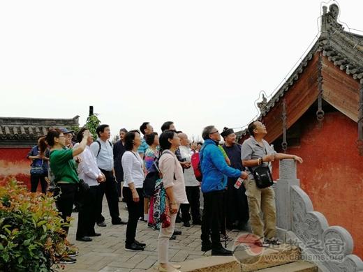 香港国际道教文化协会参访团到济源市阳台宫交流访问