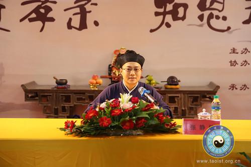 中国道教协会第十届玄门讲经活动宣讲团在江西婺源至真观巡回讲经