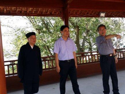 浙江省民宗委副主任赴宗教活動場所走訪巡查
