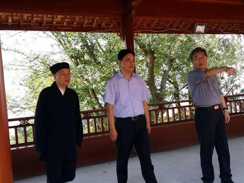 浙江省民宗委副主任赴宗教活动场所走访巡查