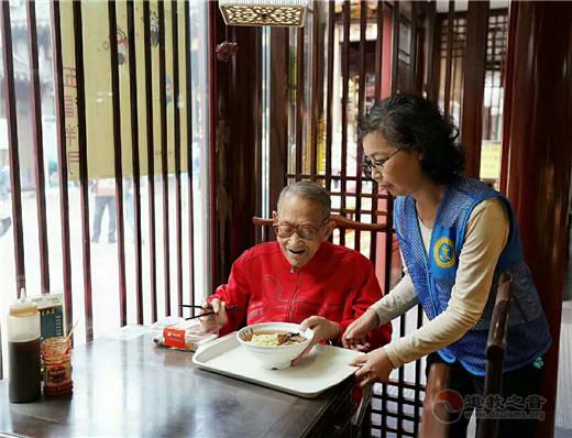"""上海城隍庙开展""""重阳·尊老""""活动"""