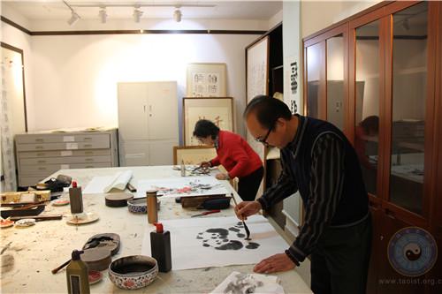 中国道教协会道家书画院举办书画笔会