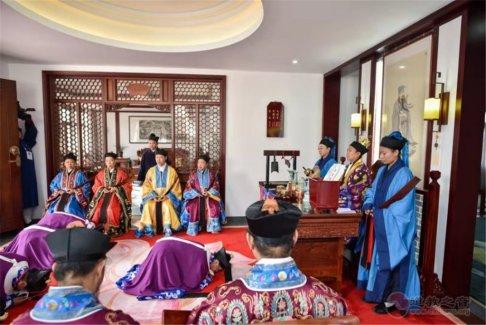 戊戌年南岳衡山道院传戒活动举行给牒送师科仪
