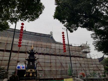 苏州玄妙观举行三清殿修缮工作协调会