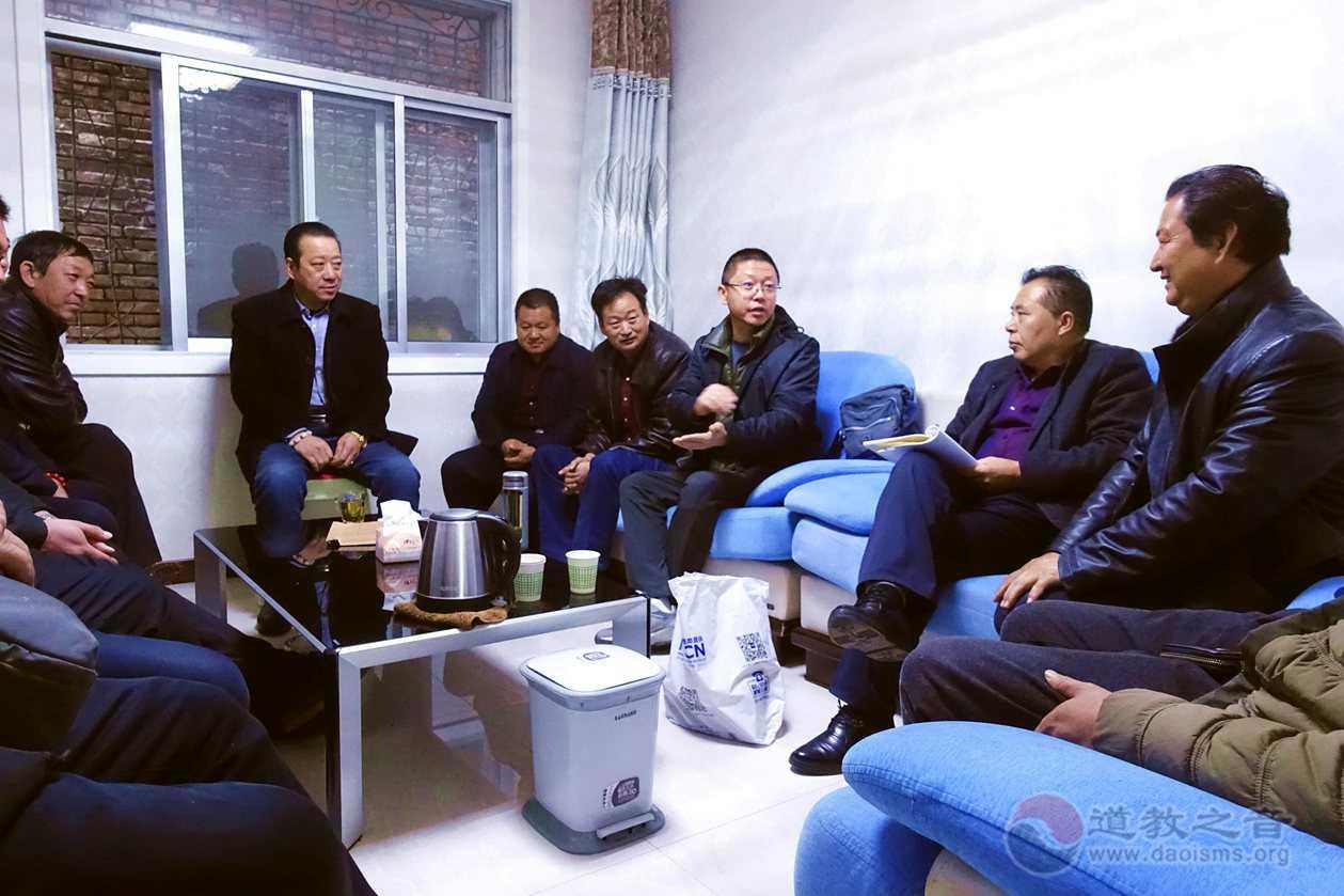 陕西榆阳道协召开会长扩大会部署冬季安全保障工作_道观-道教-扩大会-工作-榆林市
