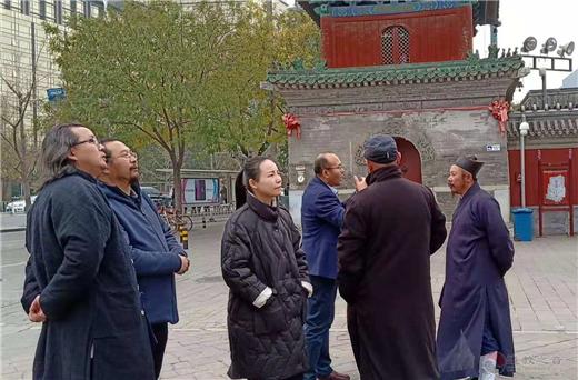 中国人民大学第13期爱国宗教人士研修班学员访问北京东岳庙