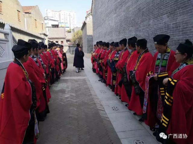 广西道协第一届道教基础知识声韵辅导班开班