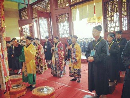 湖南省道协第六届正一派传度活动在溆浦玉皇宫举行