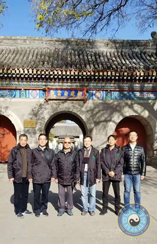 香港青松观及圆玄学院一行拜访中国道教协会