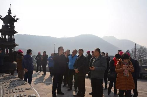 广州市道教协会文化交流团到茅山参访