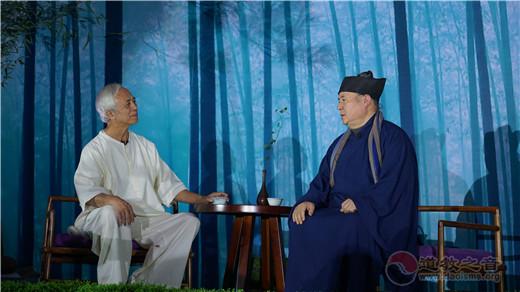 天台山桐柏宫举办欢迎晚宴及《坐忘悟真雅集》