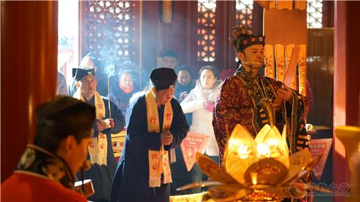 """徐州市道协到北京火神庙请""""圣火"""""""