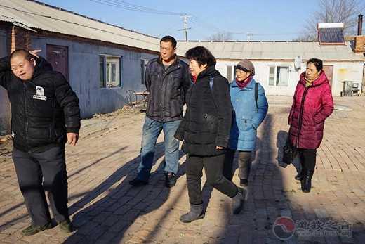 吉林省北武当玄帝观前往舒兰某救助站慰问