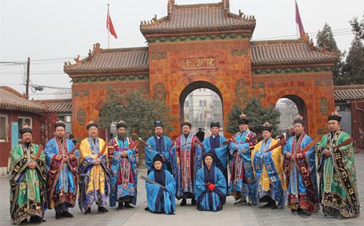 河北省道教第二届高功拨职大典在鹿泉十方院举行