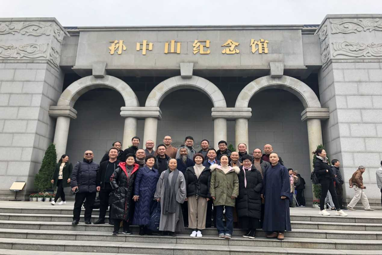 瑞安市组织佛道教界代表人士赴广州接受革命传统教育