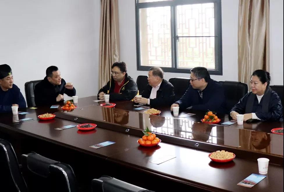 香港泓澄仙观主席叶文均道长一行到闽交流