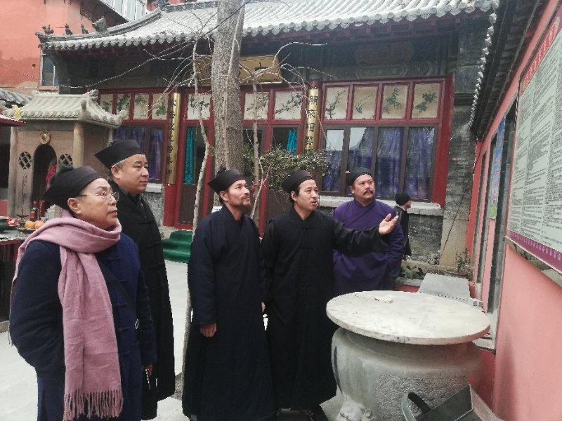 济南市道协指导检查济南宫观安全规范建设工作