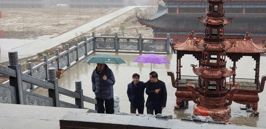 江苏省道教协会秘书长许兵一行赴方山洞玄观调研