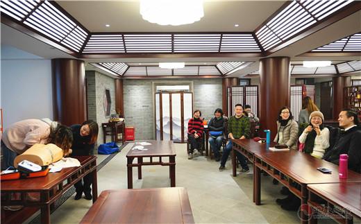 上海白云观举行AED自动体外除颤器捐赠仪式