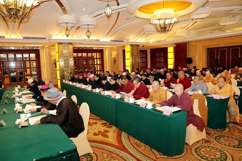 2019年四川省宗教界迎春座谈会在成都举行
