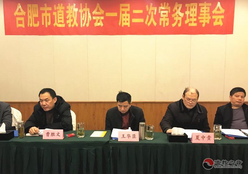 合肥市凤凰彩票召开一届二次常务理事会议