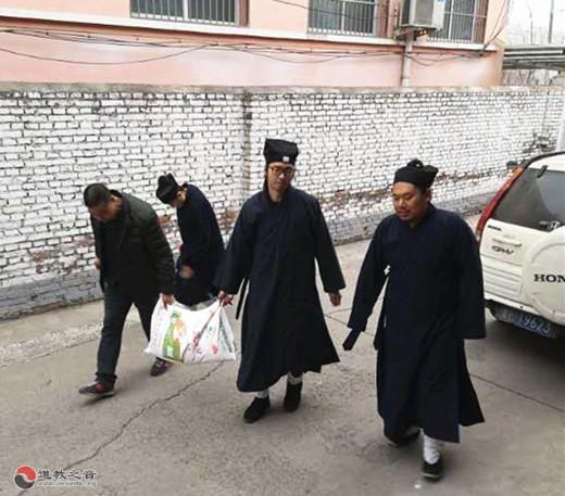 山西省晋城道教界春节前走访慰问基层宫观