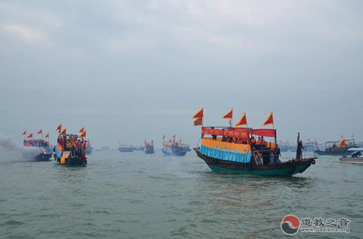 《百舸海祭,天佑中华》