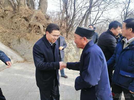 崆峒山大景区领导慰问崆峒山道教教职人员