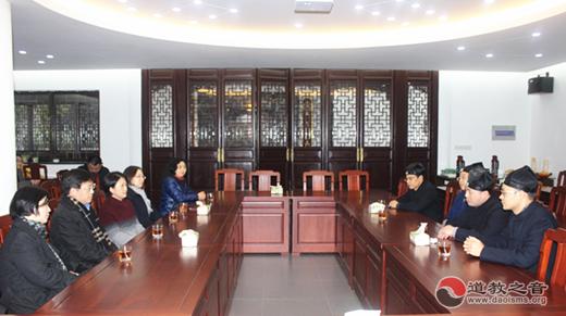 苏州市副市长聂飙到苏州玄妙观走访慰问