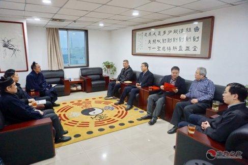 西安市宗教事务局党组书记李永奇春节前夕走访慰问西安市道协