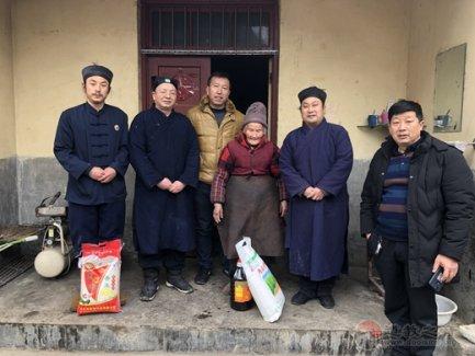 汉中张良庙开展春节前走访慰问老人和贫困户活动