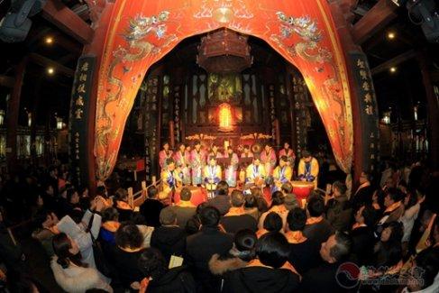 苏州玄妙观新年祈福法会、安太岁法会功德圆满