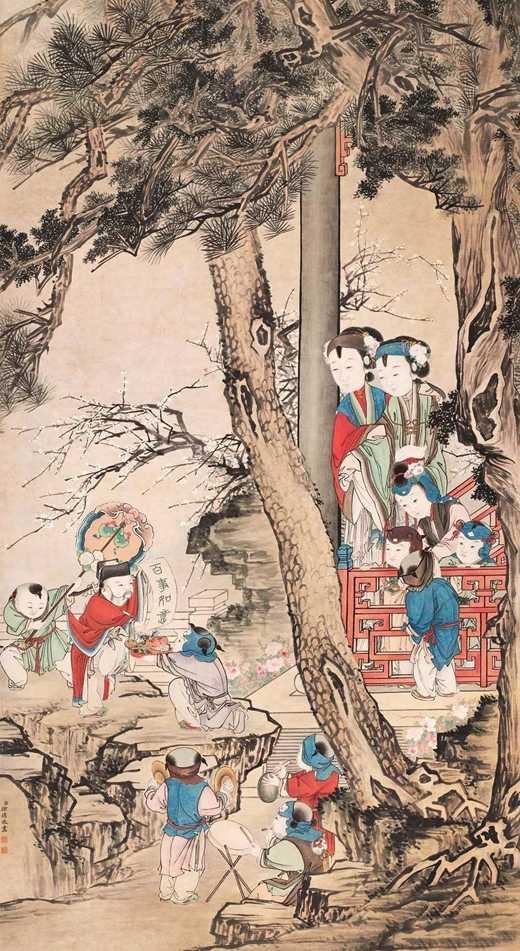 """从""""岁朝图""""看春节习俗里的宗教文化"""