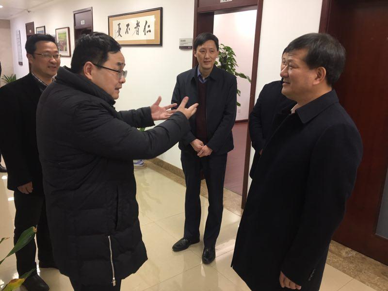 江西省委常委、统战部长陈兴超慰问省民宗局