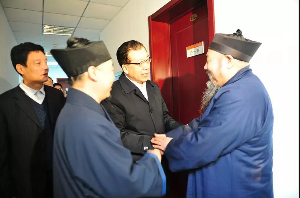 山东省委常委,统战部长张江汀走访全省性宗教团体