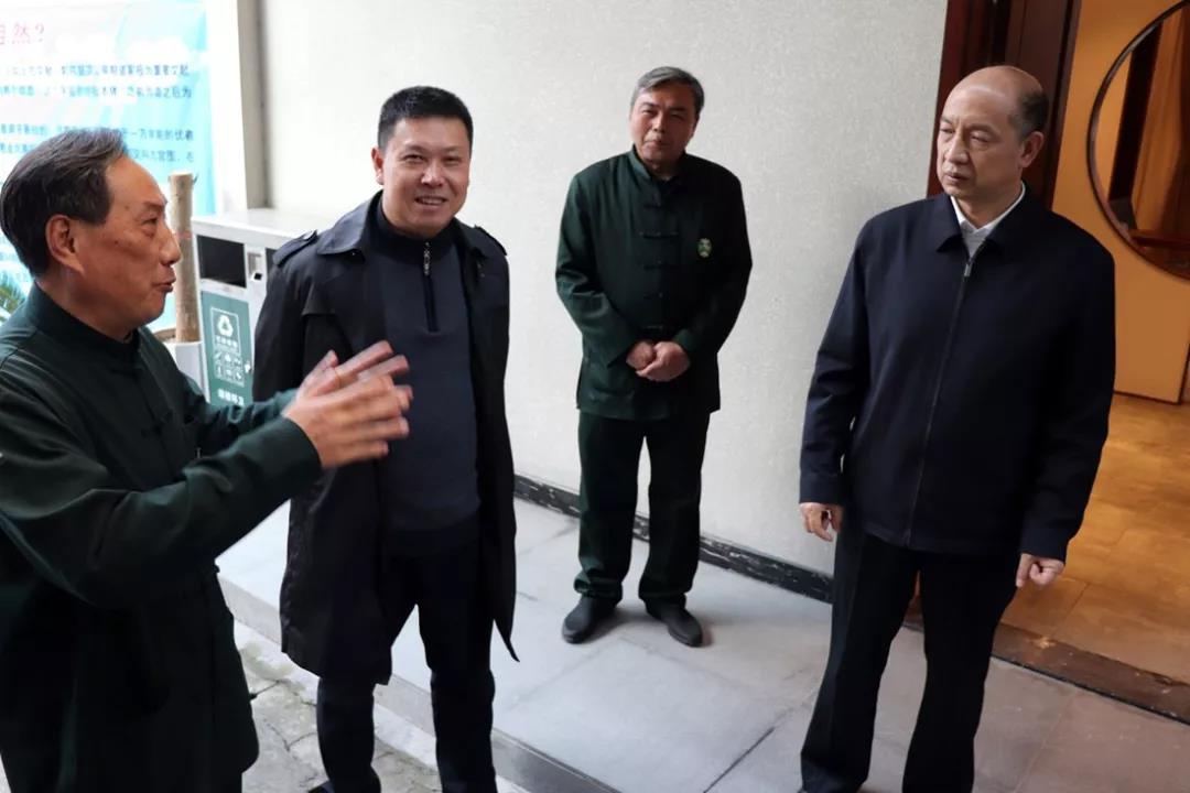 福建省副省长郑建闽赴福州于山九仙观调研