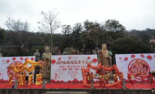 武进白龙观举办第三届江南民俗文化艺术节欢度元宵