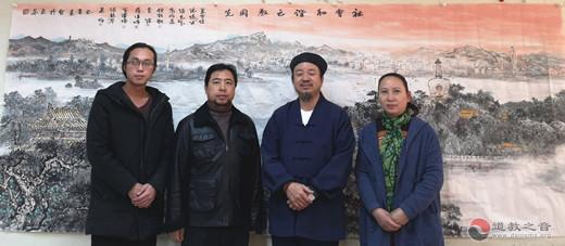 北京西城區舉辦道教界人士慶祝建國七十周年書畫筆會