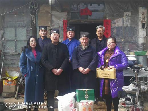 山西忻州道教界开展慰问道众暨赠道书活动