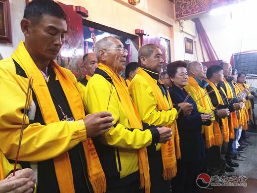 台湾南部地区宫庙代表组团参访厦门朝宗宫