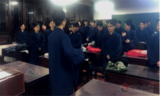 上海道教学院举行第六届本科班开学典礼