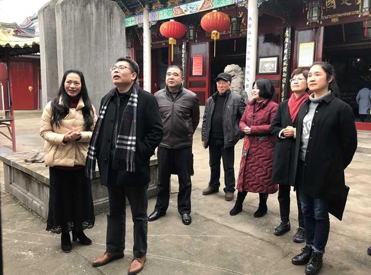浙江省民宗委副主任莫幸福一行调研宗教活动场所