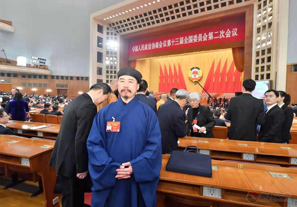 全国政协委员、中国道教协会副会长、山东省道教协会会长张诚达道长