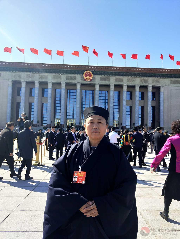 全国政协委员、中国道教协会副会长、湖南省道教协会会长黄至安道长