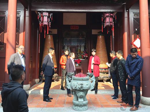 福建省文化和旅游厅副厅长调研霞浦天后行宫