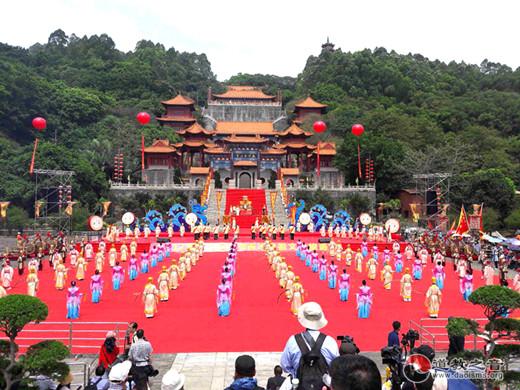 广东陆丰南沙两地开展妈祖人文化交流活动